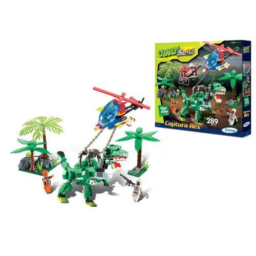 Blocos-de-Encaixe-Dino-Saga-Captura-Rex