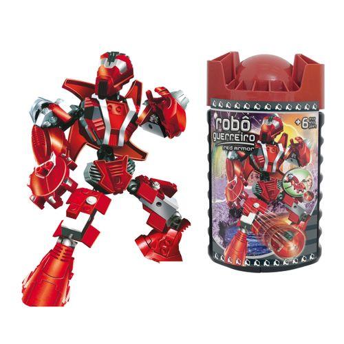 0697-6---Blocos-de-Encaixe-Robo-Guerreiro-Red-Armor