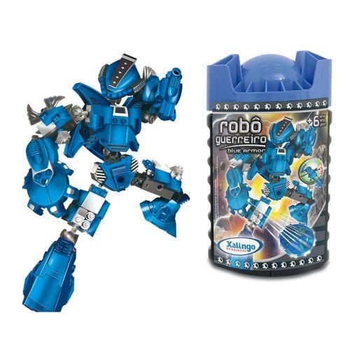 0698-7---Blocos-de-Encaixe-Robo-Guerreiro-Blue-Armor