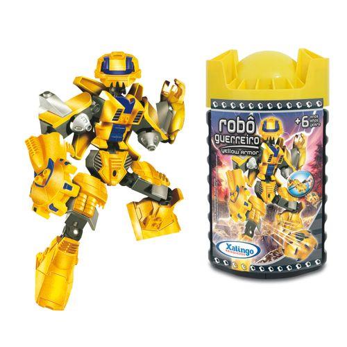 0699-8---Blocos-de-Encaixe-Robo-Guerreiro-Yellow-Armor