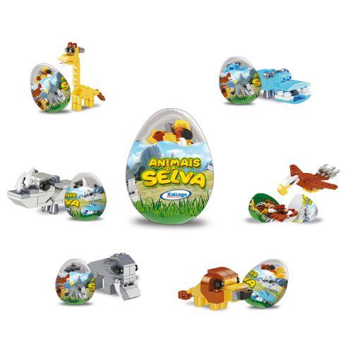 blocos-montar-animais-selva-colecionavel-xalingo-ovo