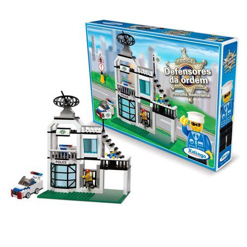 06076-Blocos-de-montar-Defensores-da-Ordem-Patrulha-Rodoviaria-xalingo-brinquedos-1-min